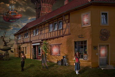 House Steampunk 3 by Taracena2017