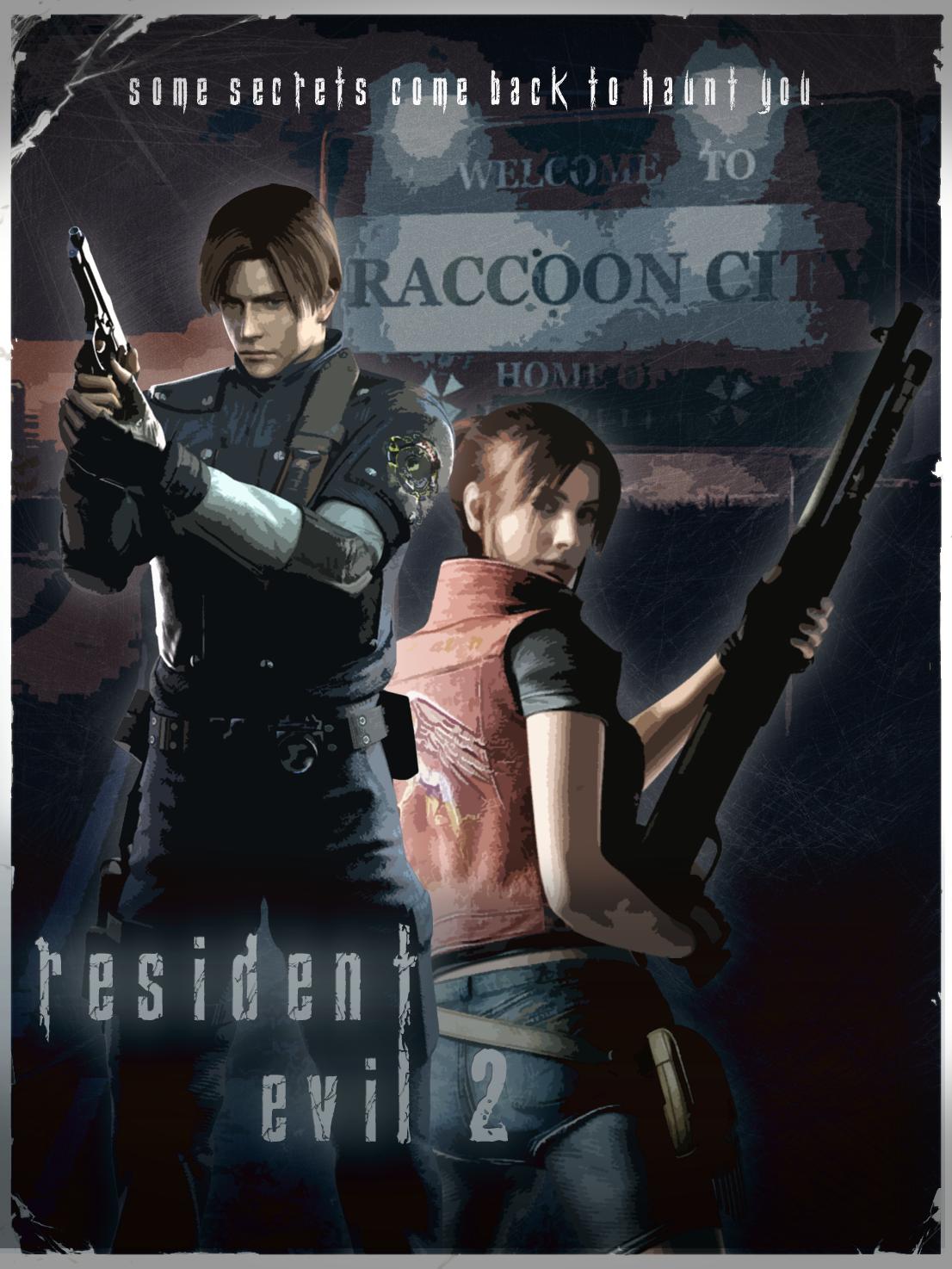 Resident Evil 2 Poster By Natestarke On Deviantart