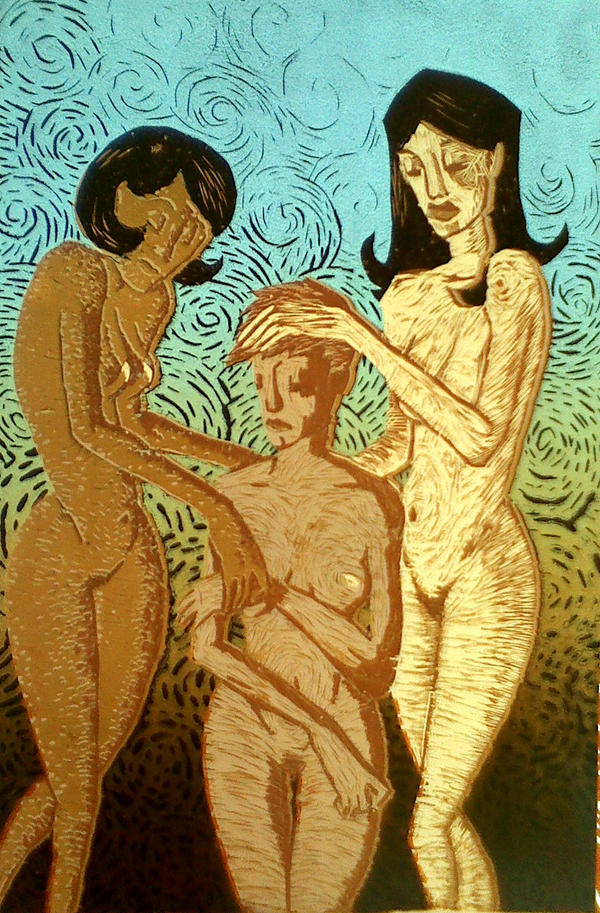 Three Graces by brzoza77