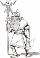 Veles - Slavic God by brzoza77