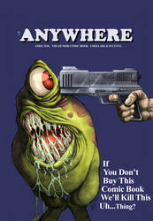 Anywhere #6 Cover by Heroverse