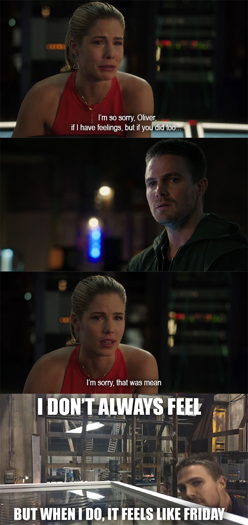 Arrow s03e02 Meme by trini-raven