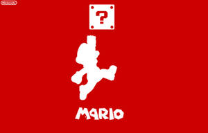 Nintendo Mario Wallpaper Red by DaanAndCasper