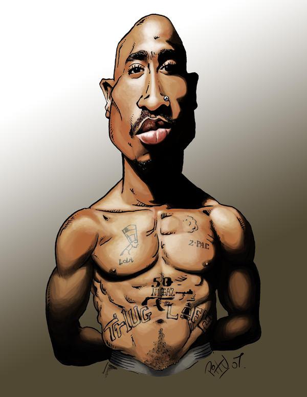 Tupac Shakur by pituman