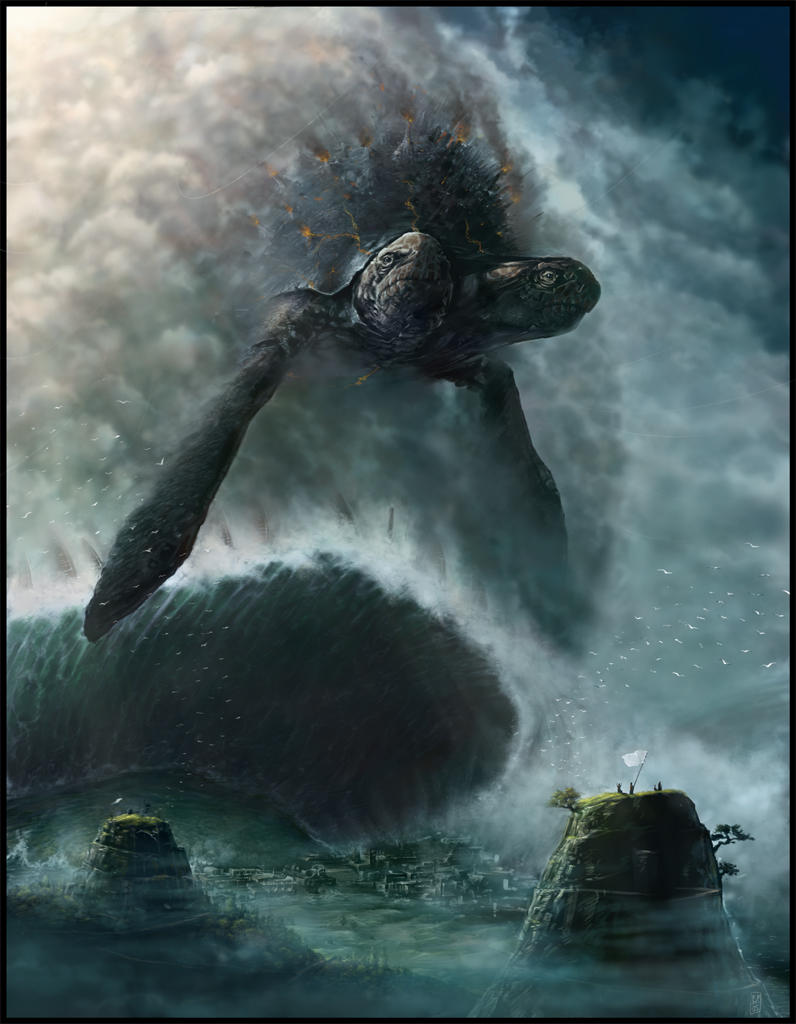 Raz De Marrée Apocalyptique dans Fantastique Sea_Rising_by_Ninja2ASSN