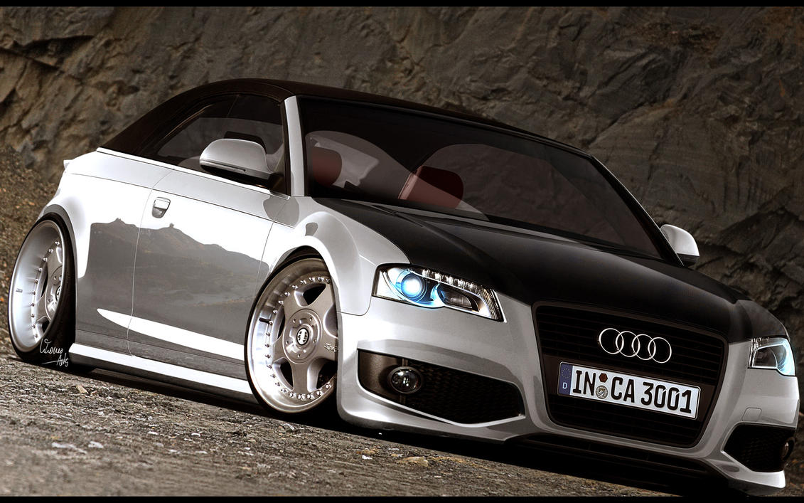 audi a3 cabrio german by vikoneoarts on deviantart. Black Bedroom Furniture Sets. Home Design Ideas