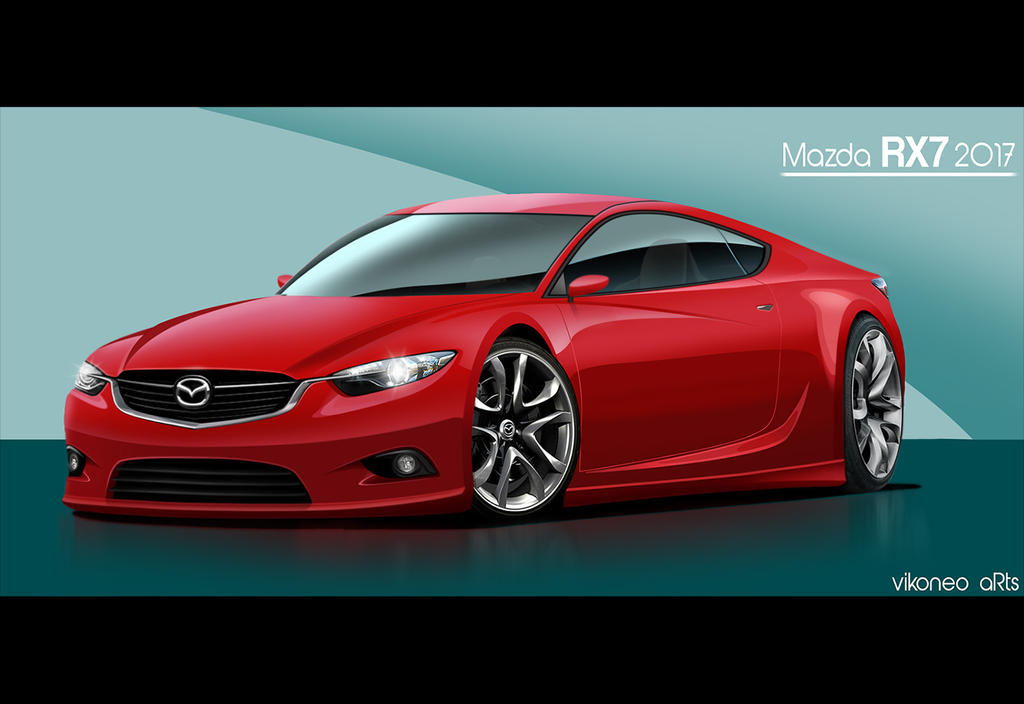Mazda Rx7 2015 >> Mazda Rx 7 2015 By Vikoneoarts On Deviantart