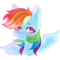 Rainbow Dash by Zefir-ka