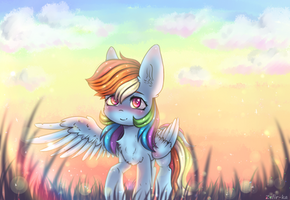 Rainbow Dash by Zefir-ka