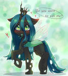 Little Queen Chrysalis by Zefir-ka