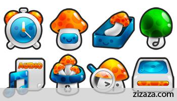 Iconset - Mushroom