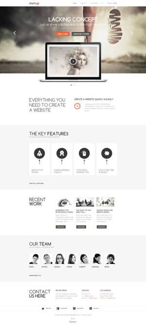 Joomla template - Startup