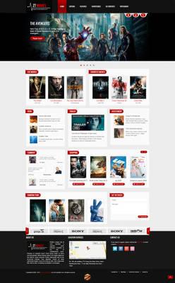 Joomla template - Movie