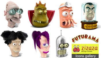 Iconset - Futurama by DarkStaLkeRR