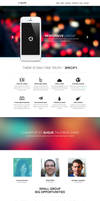 Specify - One Page PSD Template
