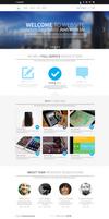 iResources - Creative One Page portfolio PSD Theme