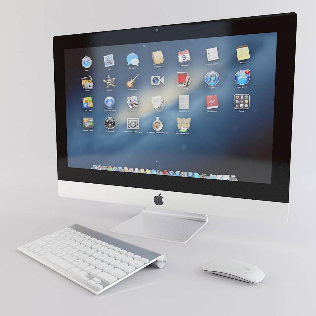 3d models apple imac by darkstalkerr on deviantart for 3d raumgestaltung mac