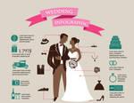 Wedding infographic design