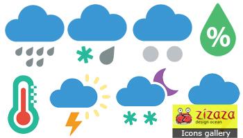 Weather Flat Icon by DarkStaLkeRR