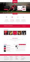 Boxin - Flat Creative PSD Template