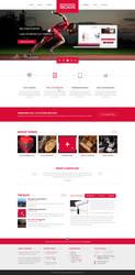 Boxin - Flat Creative PSD Template by DarkStaLkeRR