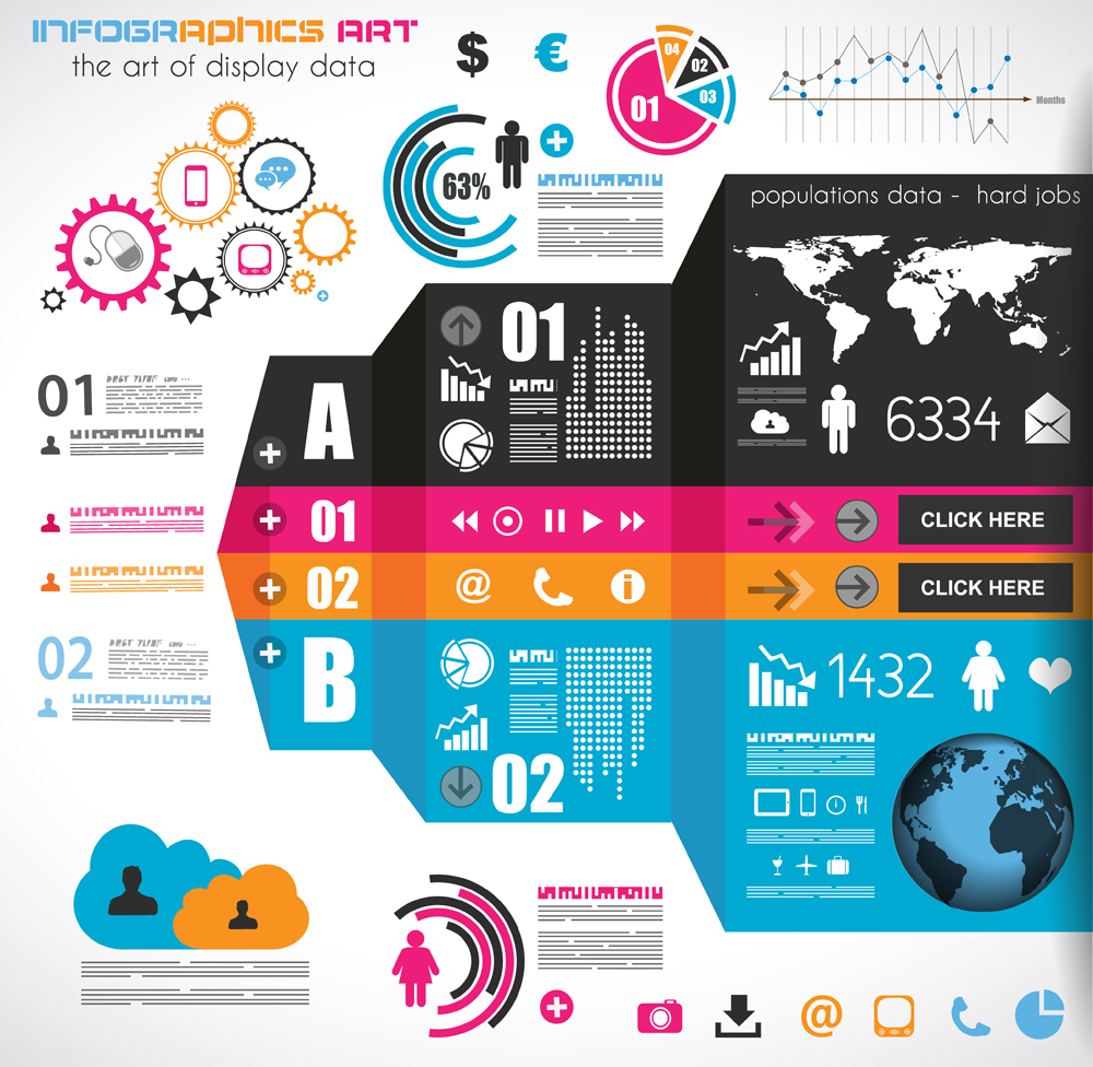 Business infographics elements by DarkStaLkeRR