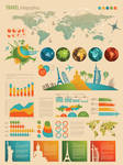 Infographic and diagram design elements vector