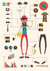 Hipster infographics