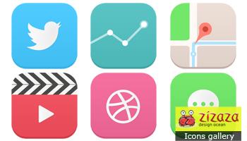 iOS 7 icons by DarkStaLkeRR