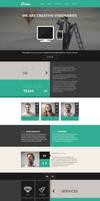 Vision - One Page Flat Portfolio HTML Template by DarkStaLkeRR