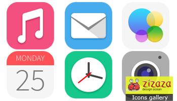 iOS7 icons by DarkStaLkeRR