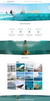 OceanPlaza WordPress Parallax Theme