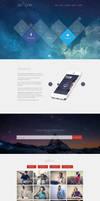 De7igner - Flat iOS7 Inspired Coming Soon Template