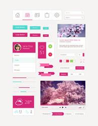 Flat UI Design Kit by DarkStaLkeRR