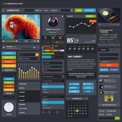 Combination UI Kit by DarkStaLkeRR