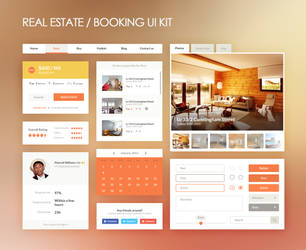 Real Estate UI Kit by DarkStaLkeRR