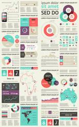 Vector Infographic Elements by DarkStaLkeRR
