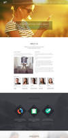 Szia - Responsive Wordpress One Page Portfolio