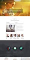 Szia - Responsive Wordpress One Page Portfolio by DarkStaLkeRR
