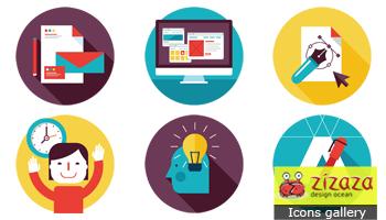 Design Services Icons Set by DarkStaLkeRR