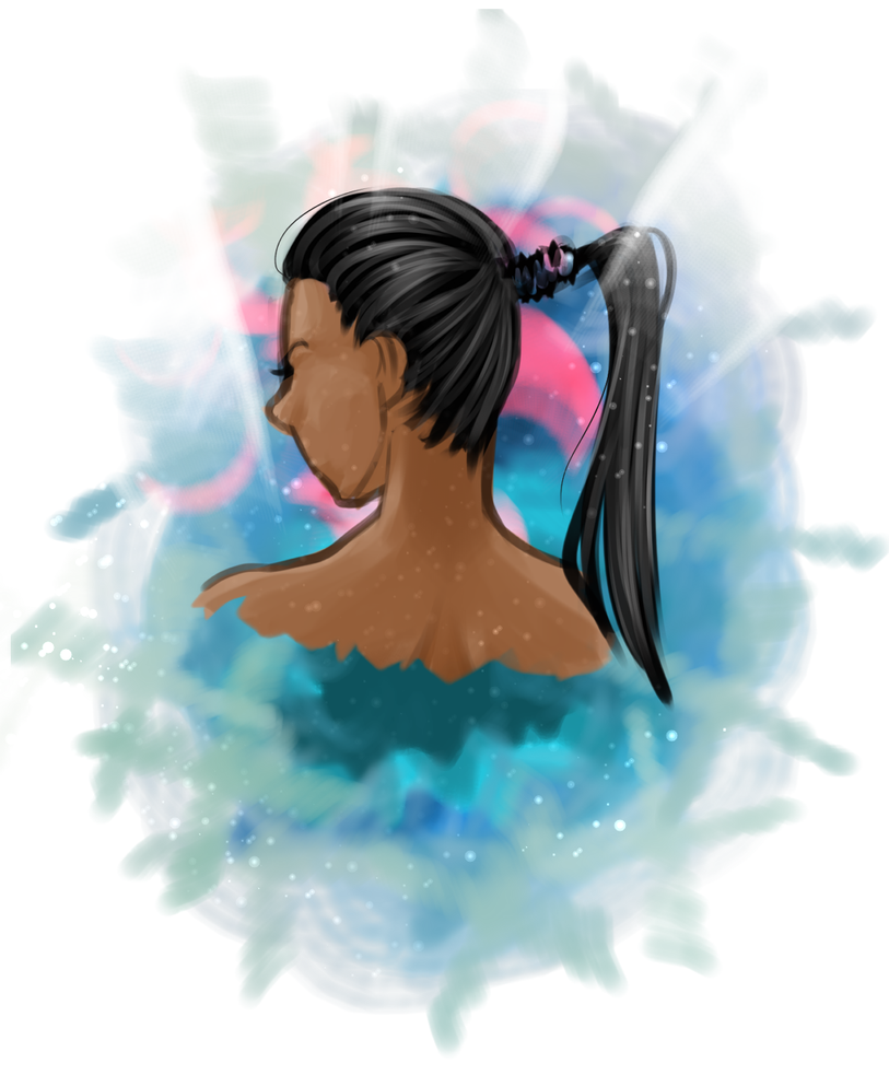 Girl in a Whirl Wind by ThePinster