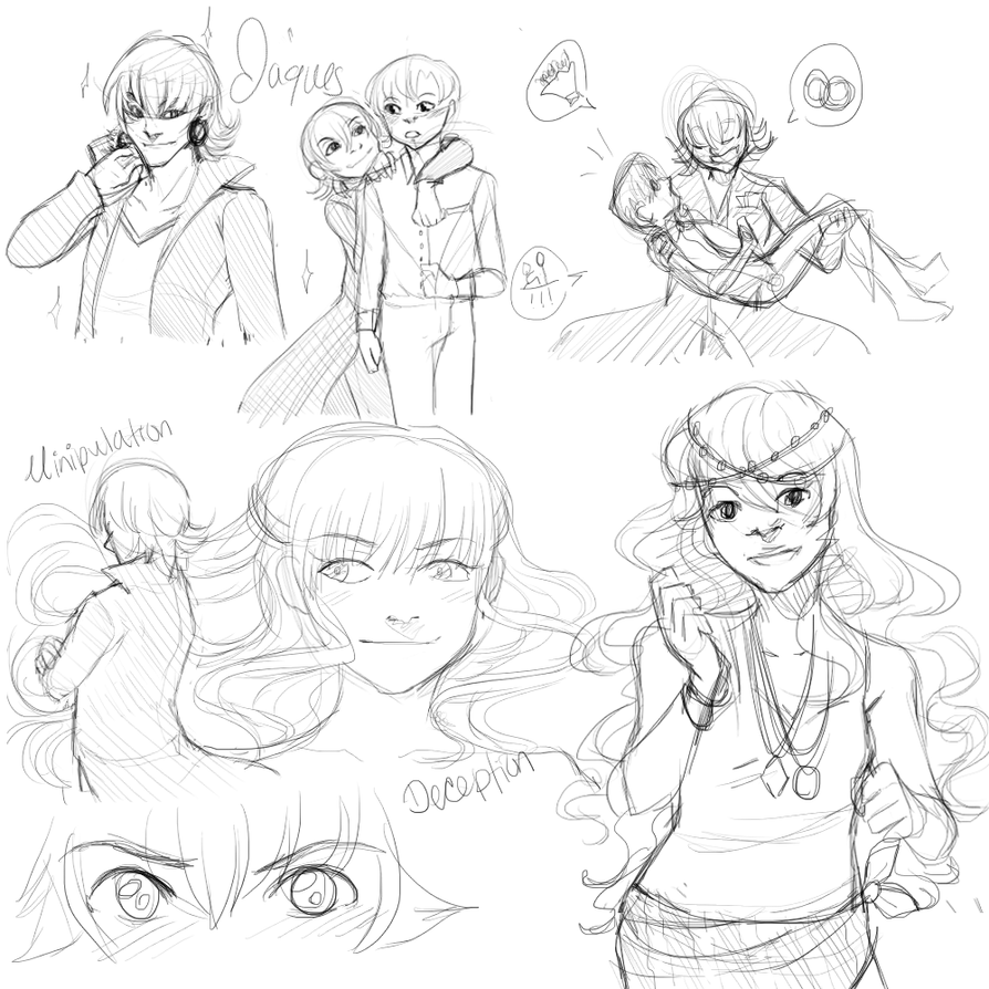 Sinful Redemption Sketch Compilation by ThePinster