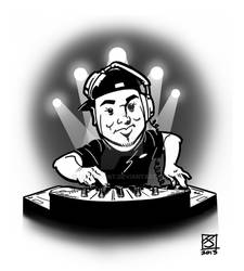 DJ John Bas by artsavant