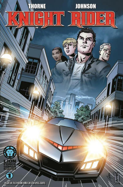 Knight Rider #1 cover by artsavant