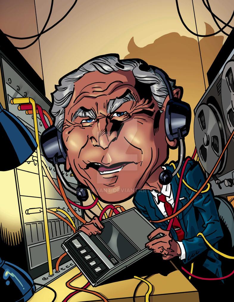 Bush Can Hear You! by artsavant