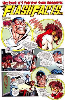 Flash: Secret Files page