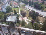 View from the tower of the Reformed Church #2