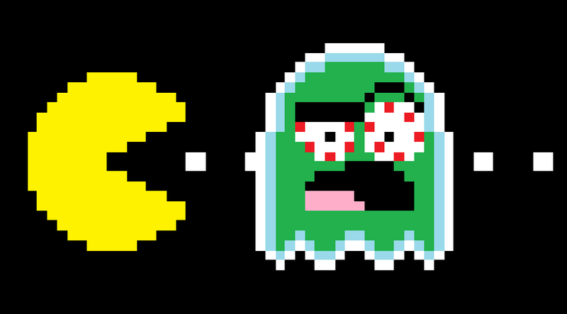 pacman pixel related keywords - photo #11