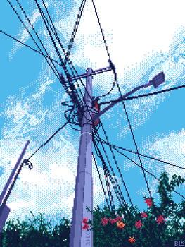 Just the lightpole