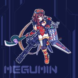 Crimson Raider Megumin Unit